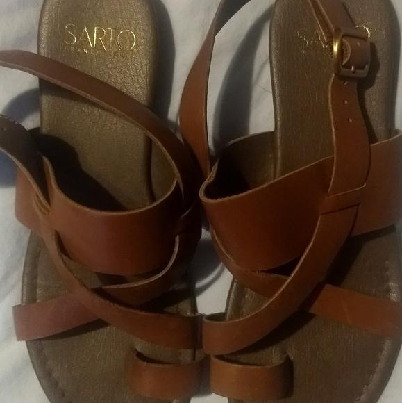 115ee69b67d Franco Sarto Shoes - Franco Sarto Gia Sandals - Tan - Size 7